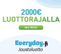Perusvippi joustoluotto 20-2000 euroa – arvostelut ja tietoa lainapalvelusta