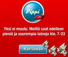 Vippi.fi vippilimiitti on joustava lainapalvelu